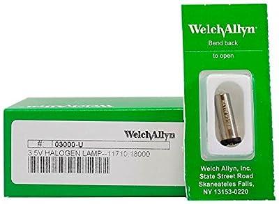 Welch Allyn Model 03000-U Original Brand 3.5V Halogen Replacement Lamp
