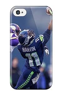 New Seattleeahawks Tpu Case Cover, Anti-scratch HeMXhcI2437nbIFJ Phone Case For Iphone 4/4s