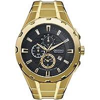 Relógio Orient Masculino Ref: Mgssc008 P1kx Cronógrafo Dourado