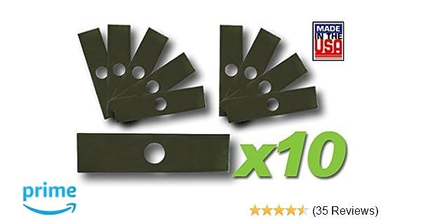Ryobi Husqvarna 5 Stix Trimmer Edger Blades Fits Echo Stihl Green Machine