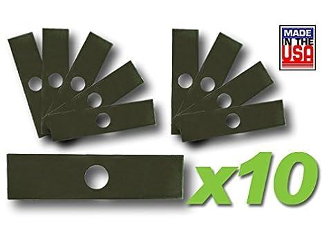MowerPartsGroup (10) Pk Edger Blades 8