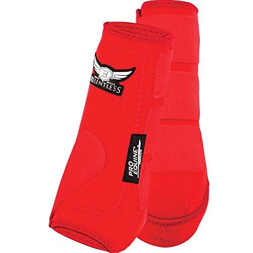 Pro Equine Relentless Sport Medicine Boots Md Blk