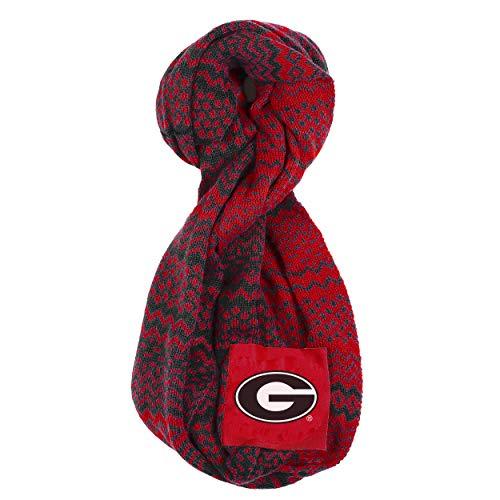 NCAA Georgia Bulldogs Infinity Scarf, Team Color (Football Team Scarf)