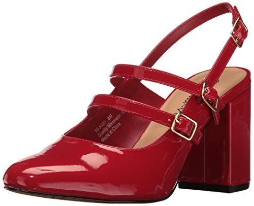 Bella Vita Womens Nessa Ii Dress Pump Red Patent