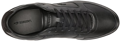 Lacoste Mens Court Minimal Casual Chaussure Mode Sneaker Noir