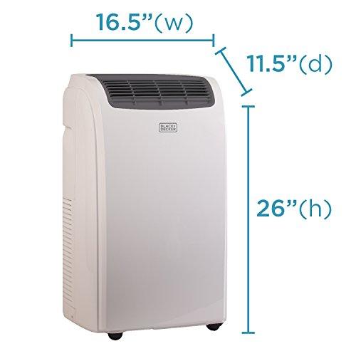 BLACK Portable Air Conditioner, BTU