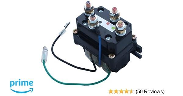 VIPER ATV/UTV Replacement Contactor/Solenoid 1500lb-5000lb Winches on
