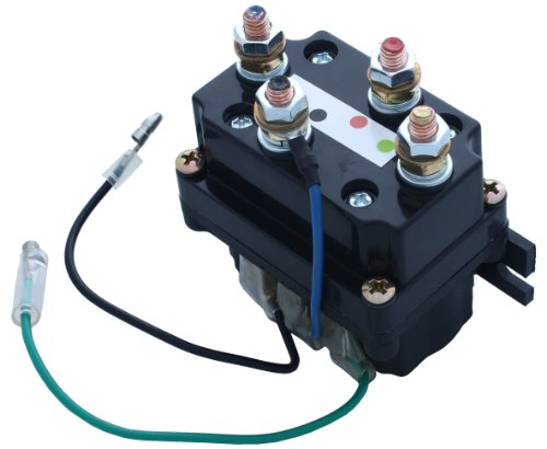 VIPER ATV/UTV Replacement Contactor/Solenoid 1500lb-5000lb Winches - Replacement Solenoid