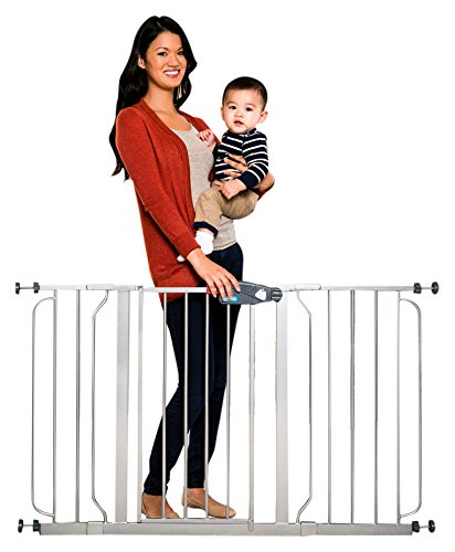 Extra Tall Dog Gates (Regalo Easy Step 51 Inch Extra Wide, Platinum)