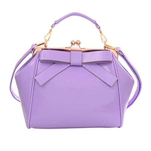 Zhaoke Bag for PU Women's Handbag Party Taro Work Shoulder Shopping Taro leather Dating color YrqYXp