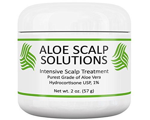 Health & Personal Care : Scalp Treatment with Herbal Aloe Vera and Cortisone-Supplements Healthy Hair Growth-Exceeds Standard Products and Treatments with Powerful Scalp Conditioners-Best Scalp Care-Hair Regrowth for Edges
