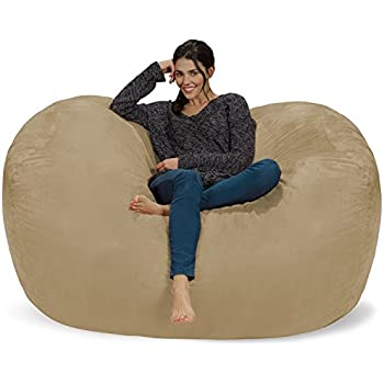 Chill Sack Bean Bag Chair Huge 6 Memory Foam Furniture And Large Lounger