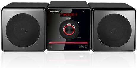 Avenzo AV6023 - Micro Cadena HiFi, Negro