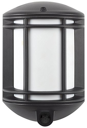 - It's Exciting Lighting IEL-1300 Cambridge Battery Powered Motion Sensor LED Security Light, Black Finish