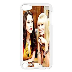 T-TGL(RQ) Custom 2 Broke Girls Pattern Protective Phone Case for Ipod Touch 5