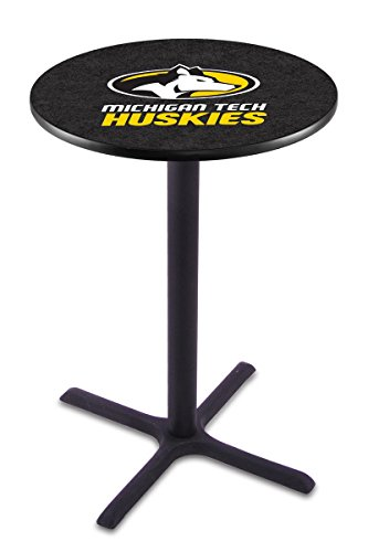 Holland Bar Stool L211B Michigan Tech University Officially Licensed Pub Table, 28