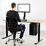 VIVO Adjustable Under Desk and Wall PC Mount