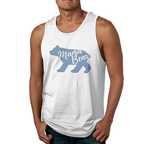 Men's Tank Tops Gym Vests Shirt Mama Bear