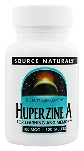 Source Naturals Huperzine A 100mcg, For Learning and Memory, 120 Tablets