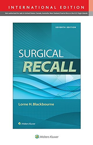 Surgical Recall (Recall Series) by Lorne H. Blackbourne (30-Sep-2014) Paperback