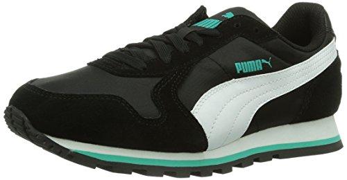 Puma St Runner Nl - Zapatillas para hombre Negro (Schwarz (black-white))