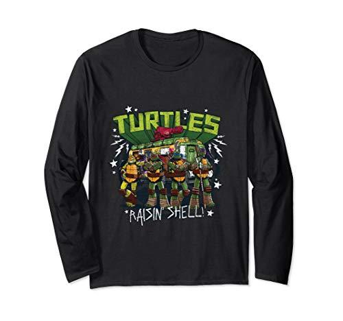 TMNT Turtles Rasin Shell Long Sleeve T-Shirt]()