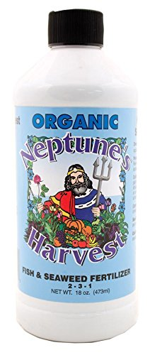 Neptune's Harvest Liquid Fish and Seaweed Fertilizer