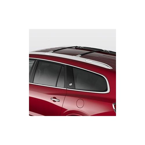 gm-12499978-roof-rack-cross-rail-package-black-rails-with-chrome-end-cap