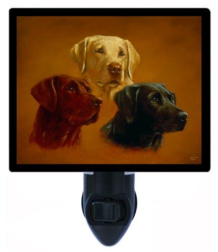 Dog Night Light, Lab Portraits, Labrador Retriever