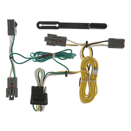 CURT 55326 Vehicle-Side Custom 4-Pin Trailer Wiring Harness for Select Ford Crown Victoria, Ford Mustang, Mercury Grand Marquis