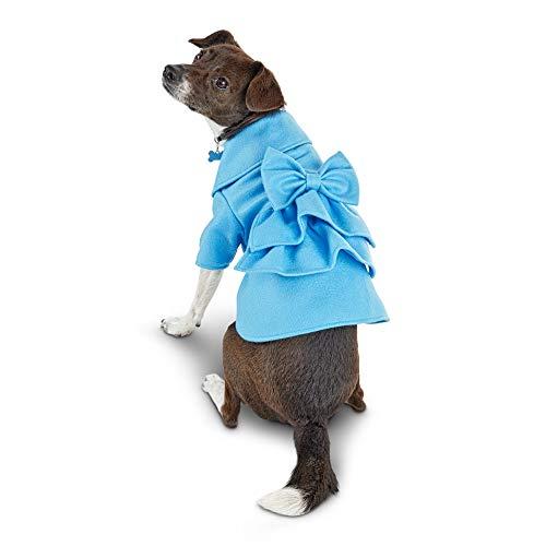 Ruffled Charm Skirt (Bond & Co. Upper East Side Dog Coat, Small)