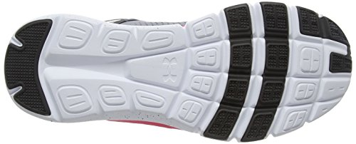 Under Armour Mujeres Micro G Limitless Tr Steel / Harmony Red / Carboncillo