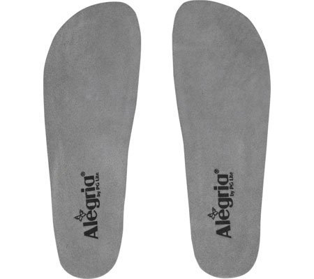Alegria Women's Wide Replacement Insole Grey Insole 37 (US Women's 7-7.5) Wide