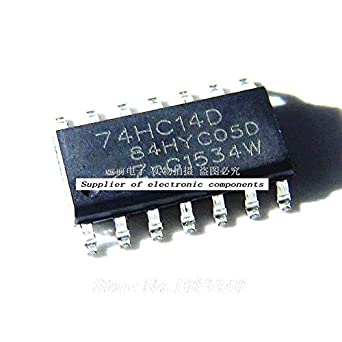 10 pcs ST 74HC14 Schmitt Trigger Hex Inverter 6 Channel SOP