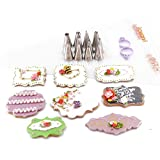 kowanii Cookie Decorating Tips for Piping, Sugar