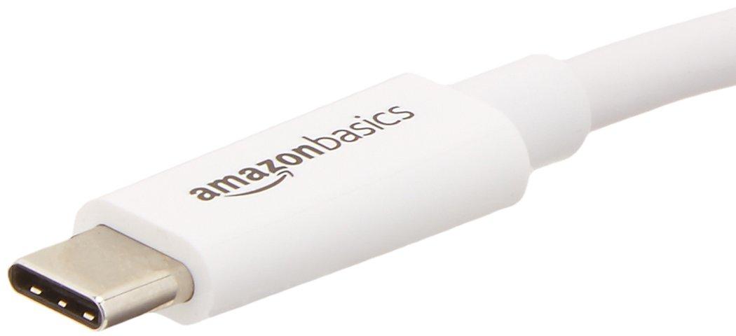 AmazonBasics USB 3.1 Type-C to HDMI Adapter - White by AmazonBasics (Image #2)