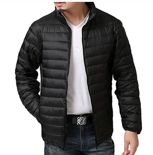 Warm Gocgt Packable Down Men Coats Black Jackets Weatherproof Winter 6ZnAWZR