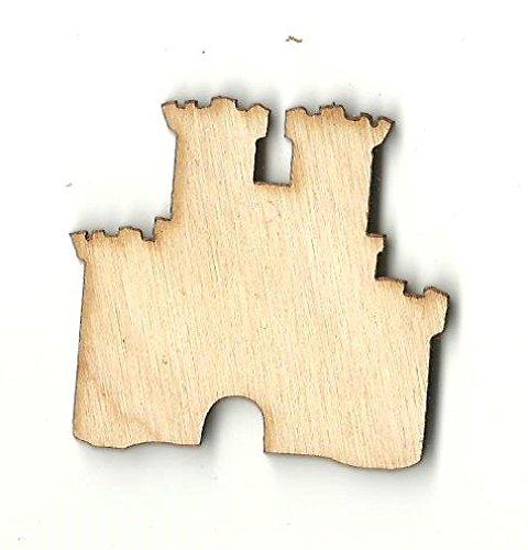 Sand Castle - Laser Cut Unfinished Wood Shape BLD79 from The Wood Shape Store