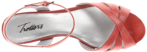 Mickey TROTTERS Pump Women's Red Wedge 56wqO6F