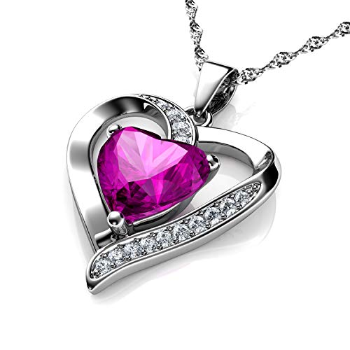 Cur-Rose-Collier-Dephini-Argent-925-Pendentif-en-forme-de-cur-avec-zircons-blancs-et-rose-Pierre-porte-bonheur-orns-de-cristal-de-Dephini-pour-femme-argent-sterling-Chane-de-457-cm
