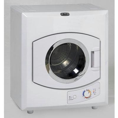 Avanti 110-Volt Automatic Portable Compact Dryer with Stainless Drum and See-Thru Window