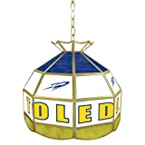 NCAA Toledo 16-Inch Stained Glass Tiffany Lamp