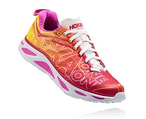 Hoka One - Zapatillas de running de Lona para mujer Virtual Pink/Neon Fuchsia