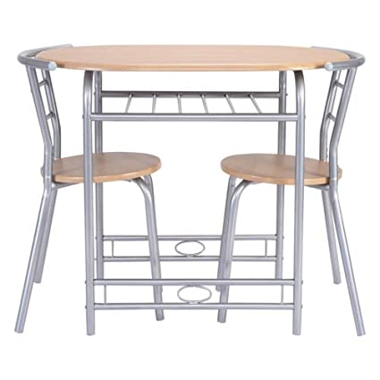 Amazoncom PCS Table Chairs Set Kitchen Furniture Pub Home - Restaurant pub table and chairs