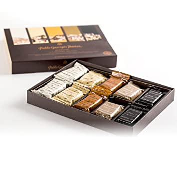 Amazon.com : Pablo Garrigós Ibáñez Delicatessen Assorted Turron (10 Portions) 5.95 oz (170 grams) (Pack of 10) : Grocery & Gourmet Food