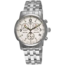 Tissot Men's T-Sport PRC200 Chronograph Stainless Steel Dial Watch Silver T17.1.586.32