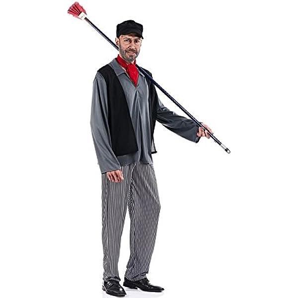 Disfraz de Deshollinador para hombre: Amazon.es: Juguetes y juegos
