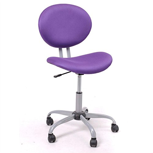 Galaxy Chair Executive (Generic Bret Furniture Mid-Back Adjustable Executive Office Desk Task Computer Chair Purple)
