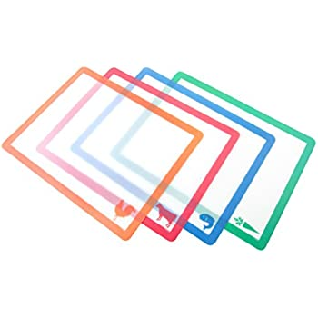 Amazon Com Counterart 74104 Flexible Clear Cutting Mat