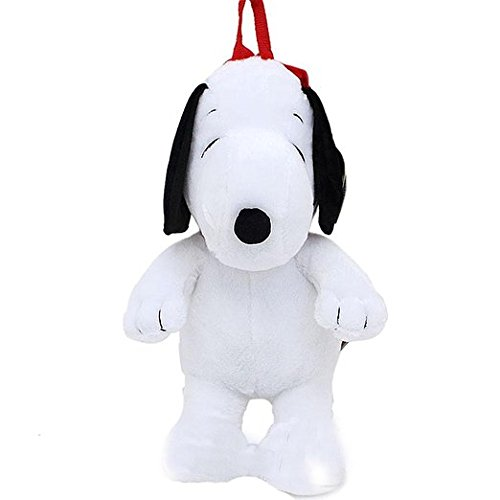 Amazon Com Peanuts Snoopy Plush Backpack Toys Games
